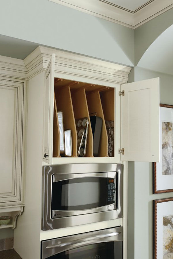 Oven Cabinet Tray Divider