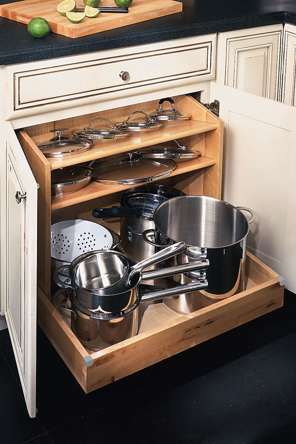Base Pots and Pans Organizer