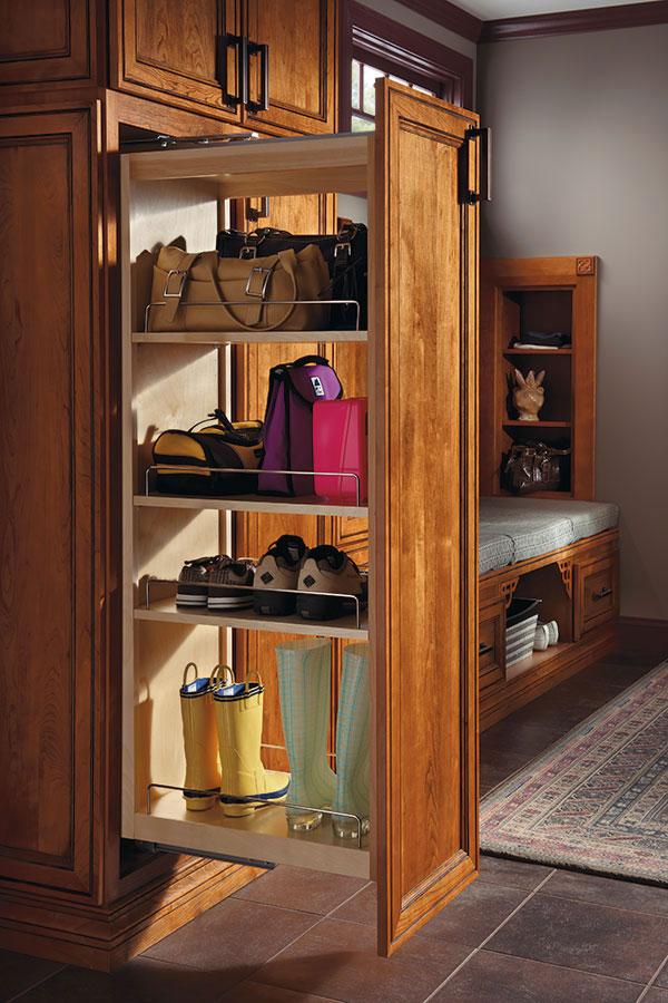 Kitchen Closet Organization Cabinets