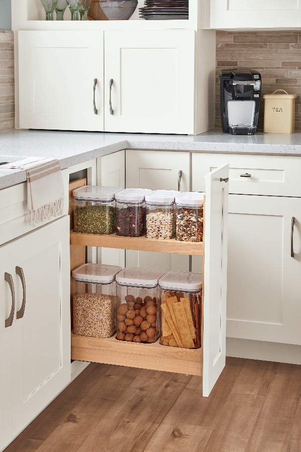 Container Organization Pantry Pull-Out