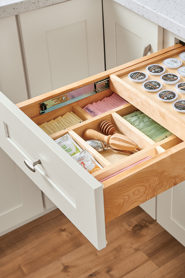 Wood Tiered K Cup Drawer