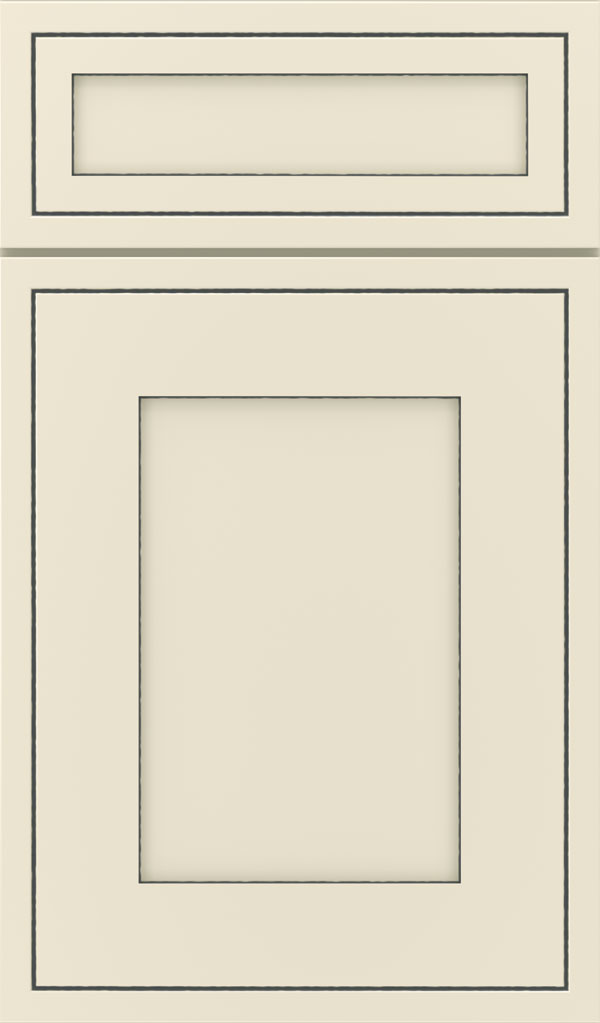 Amelia 5-Piece Maple Shaker Style Cabinet Door in Coconut Slate