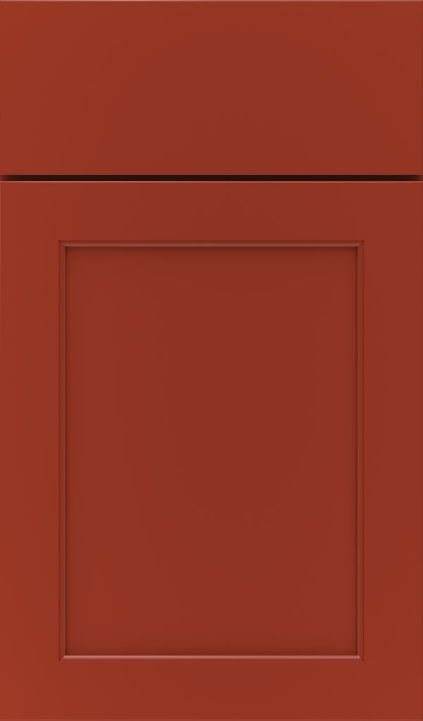 paloma_maple_flat_panel_cabinet_door_fired_brick