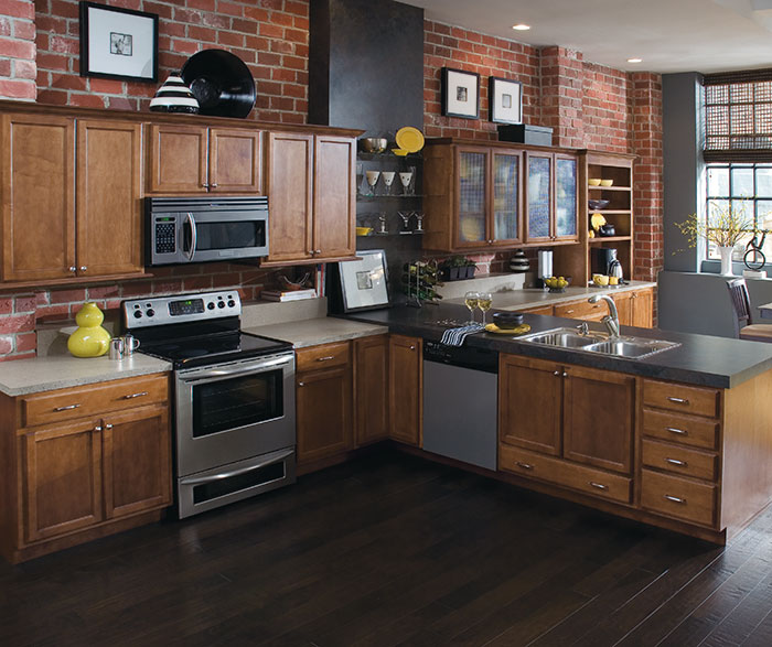 Contemporary Kitchen Maple Havana