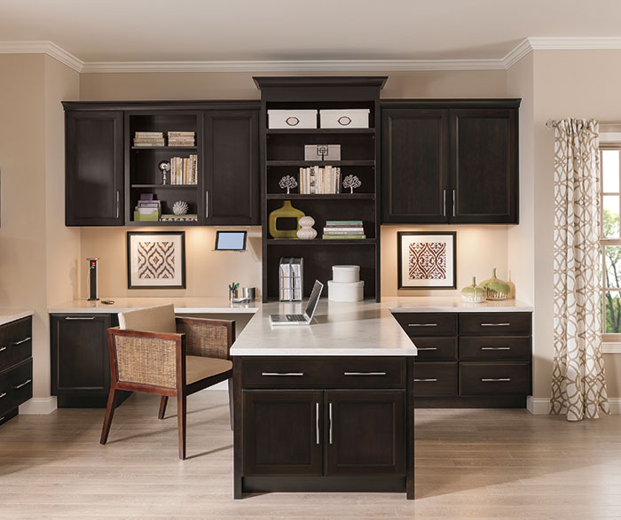 Kitchen Cherry Cabinets Dark Granite
