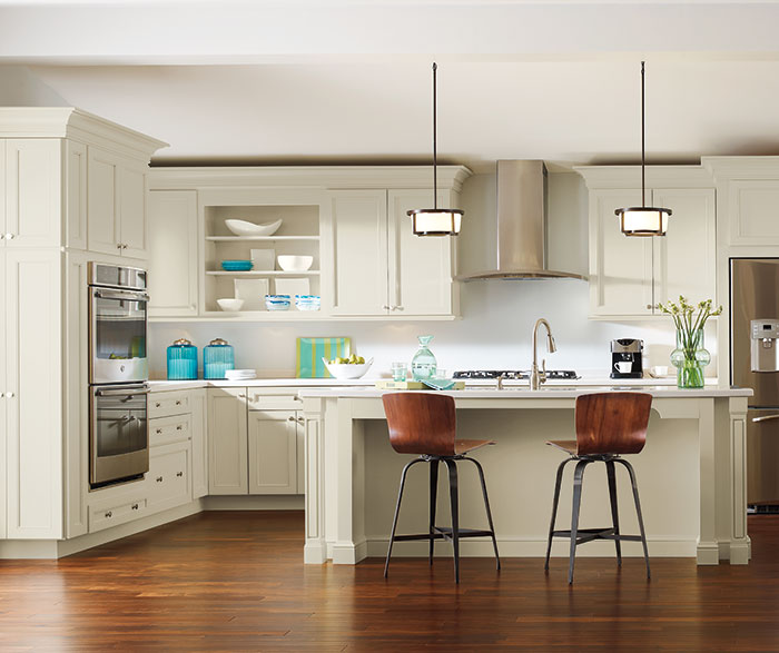 Transitional Kitchen Maple Coconut