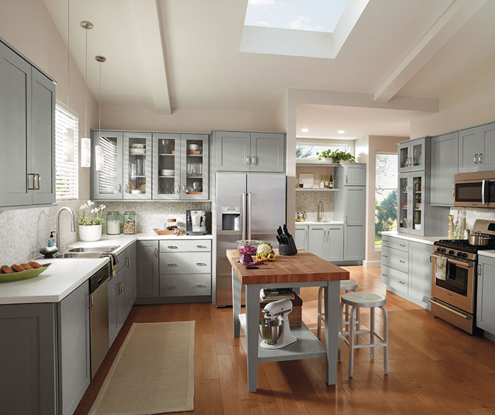 Contemporary Kitchen Painted Juniper Berry K3