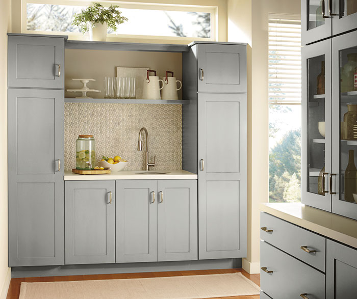 Contemporary Kitchen Painted Juniper Berry K2