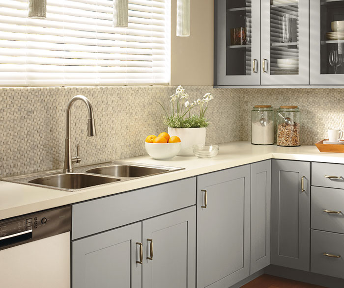 Contemporary Kitchen Painted Juniper Berry