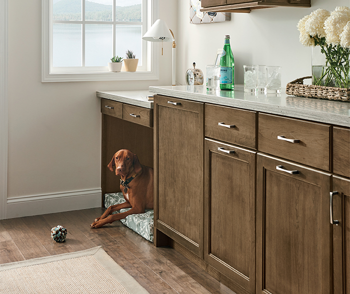 Transitional Kitchen Cherry Kodiak K3