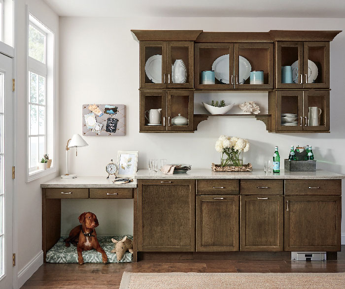 Transitional Kitchen Cherry Kodiak