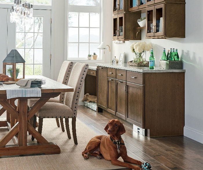 Transitional Kitchen Cherry Kodiak K2