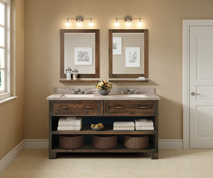 Contemporary Bathroom Alder Mustang Hewn