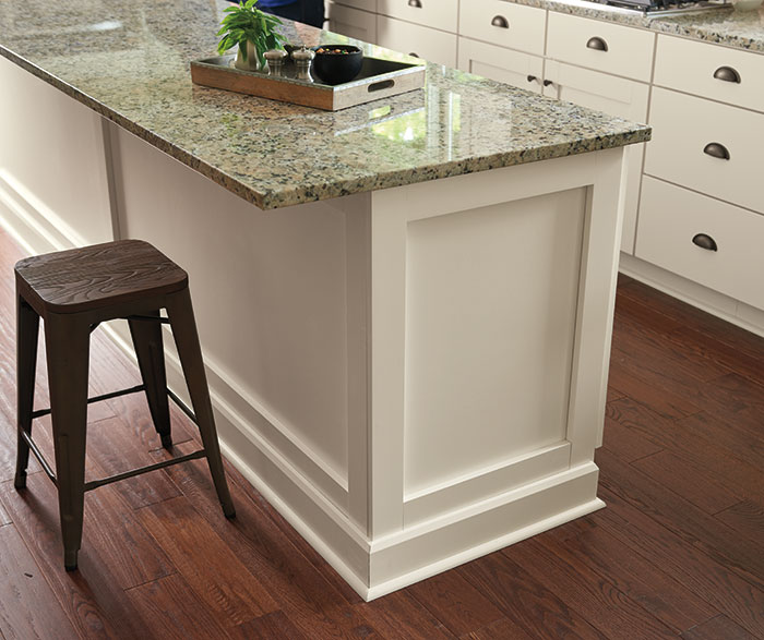 Transitional Kitchen TrueColor Coconut K3