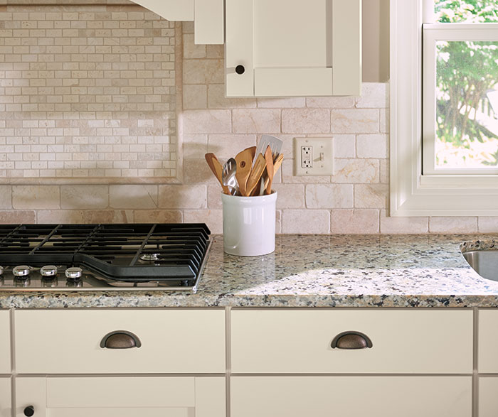 Transitional Kitchen TrueColor Coconut