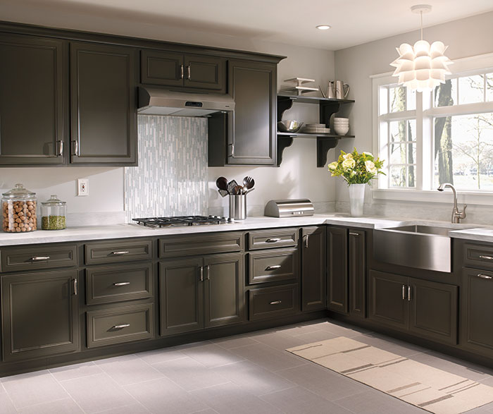 Contemporary Kitchen TrueColor Forest Floor