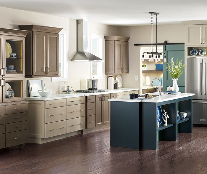 Transitional Kitchen Cherry Seal