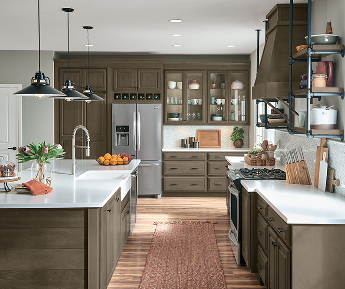 Transitional Kitchen Maple Grizzly K2
