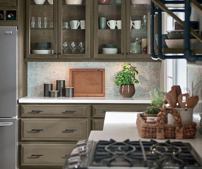 Transitional Kitchen Maple Grizzly K3